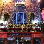Temple Bar on yksi Dublinin tunnetuimpia paikkoja
