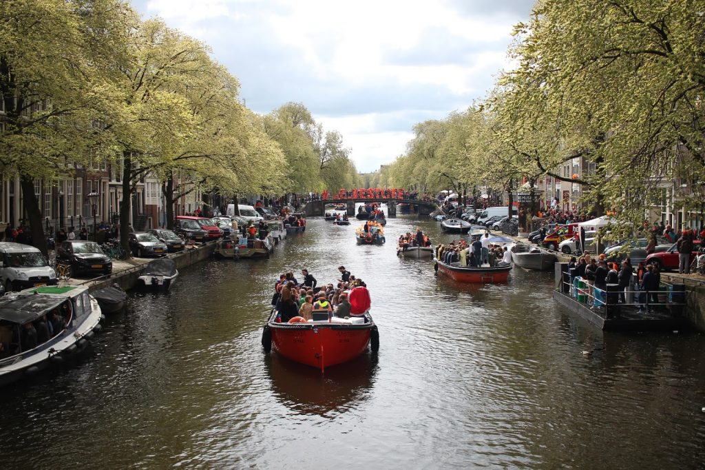 kuninkaanpäivä Amsterdamissa / King's Day in Amsterdam