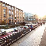 February 2018: Regents Canal, London