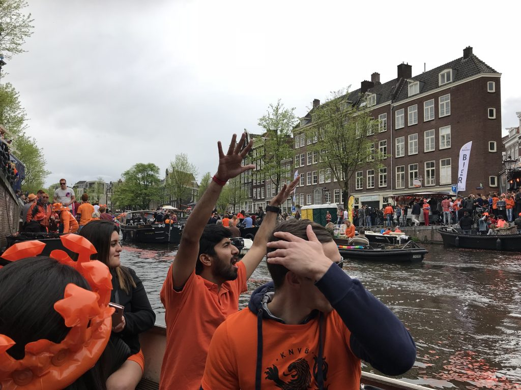 celebrating King's Day
