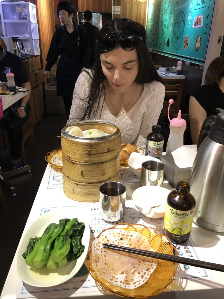 Dim sum for lunch at Dim Dum Sum Wan Chai