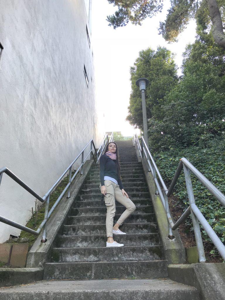 climbing the twin peaks