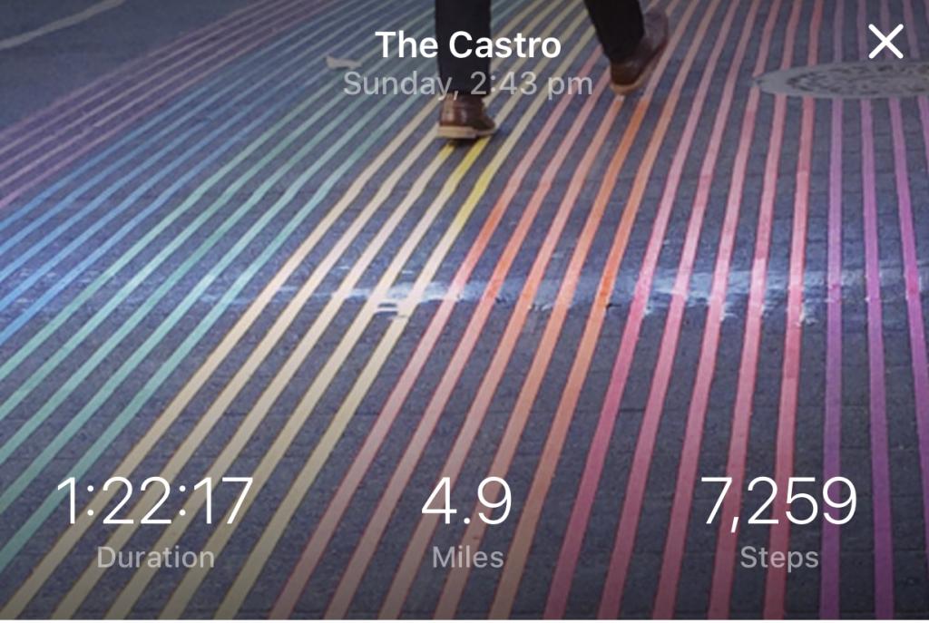 Castro walk Detour