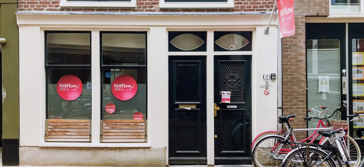 KEEPING FIT IN AMSTERDAM: HOT FLOW YOGA JORDAAN