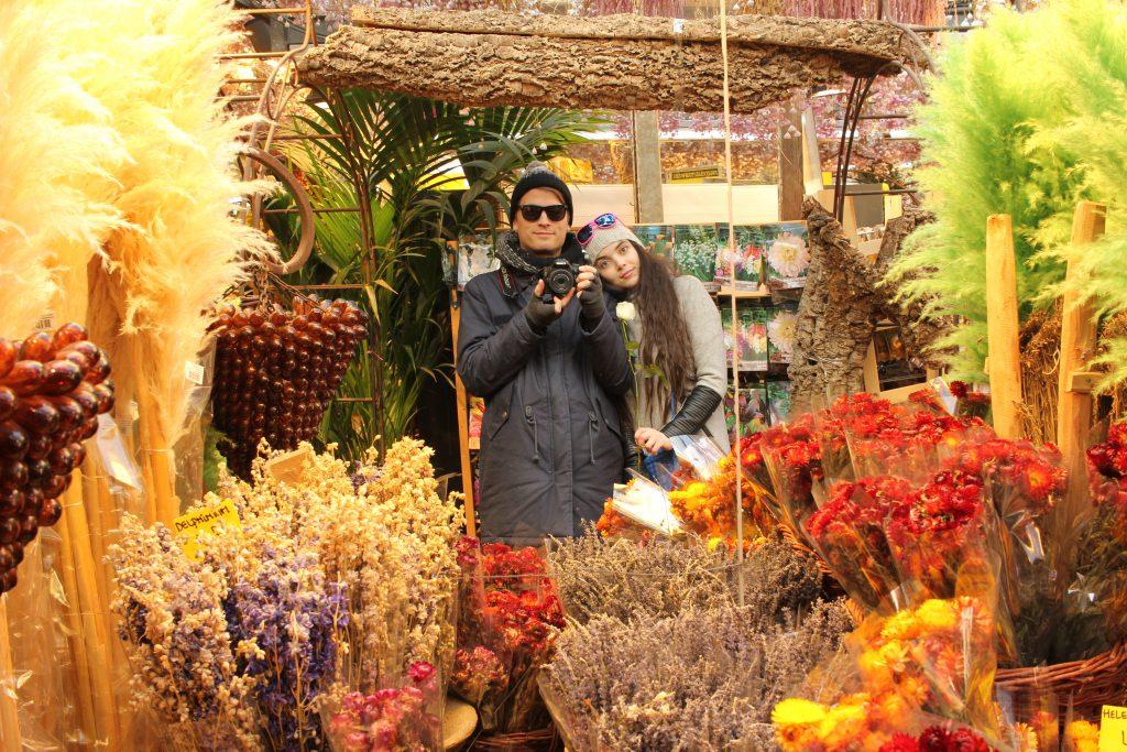 amsterdamin kukkamarkkinat