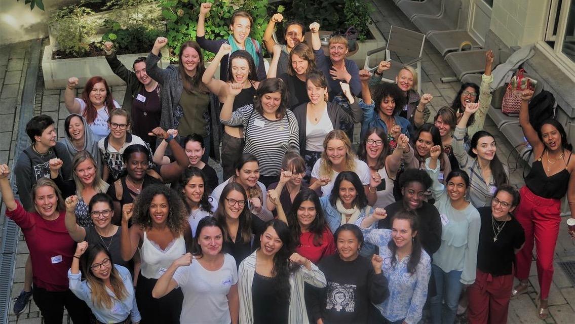 AGORA2018: Nuoret feministit Brysselissä