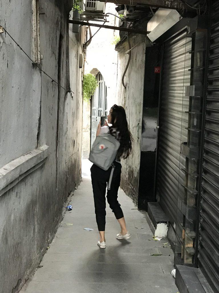 alleyways of Istanbul