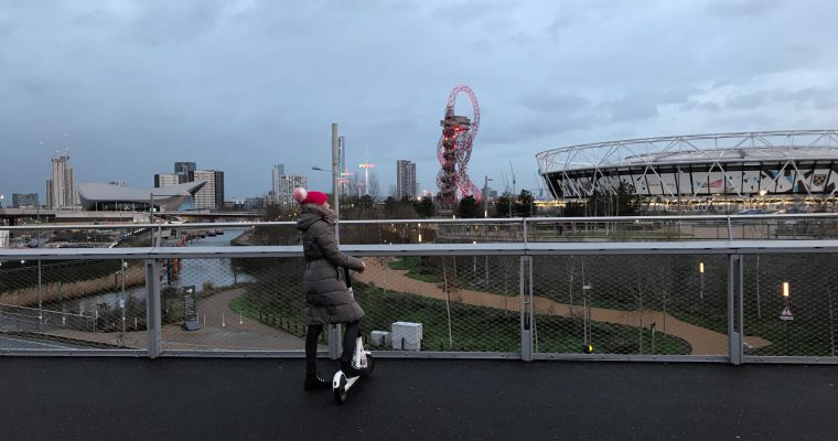 The Fast and the Furious: Riding Bird Electric Scooters in London's Olympic Park